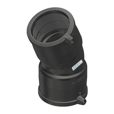 Двусторонний гибкий отвод э. с. до 24° 4947C4 SDR 11 PE 100 PN 10*